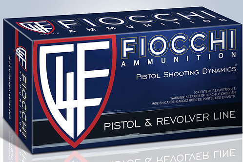 Fiocchi 9APBHP Shooting Dynamics 9mm Luger 124 GR Jacketed Hollow Point 50/Box