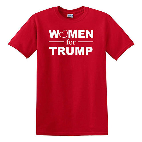 Women for Trump T-Shirt - Red