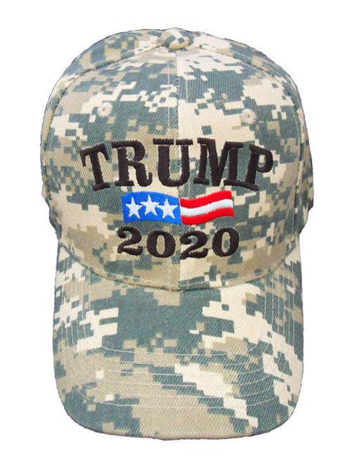 Trump 2020 Cap - Digital Camo