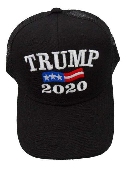 Trump 2020 Mesh Cap - Black