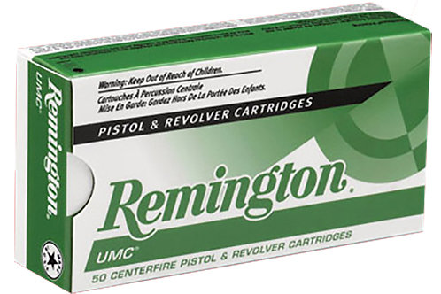 Remington Ammunition L9MM3 UMC 9mm Luger 115 gr Full Metal Jacket (FMJ) 50/Box