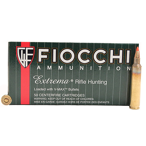 Fiocchi 204HVB Extrema 204 Ruger 40 gr V-Max Polymer Tip 50/Box