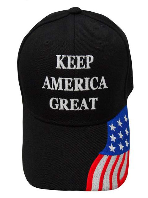 Keep America Great w/ Flag Cap