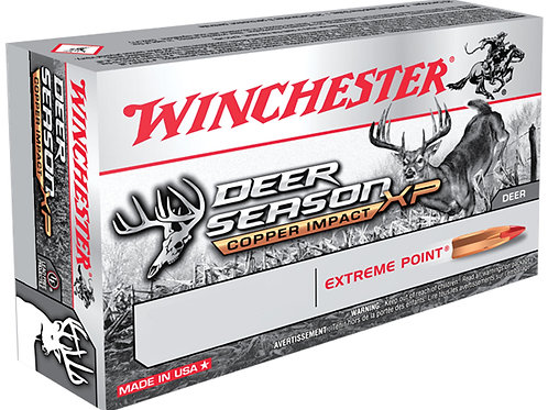 Winchester Ammo X243DSLF Deer Season XP Copper Impact 243 85 gr Copper Extreme