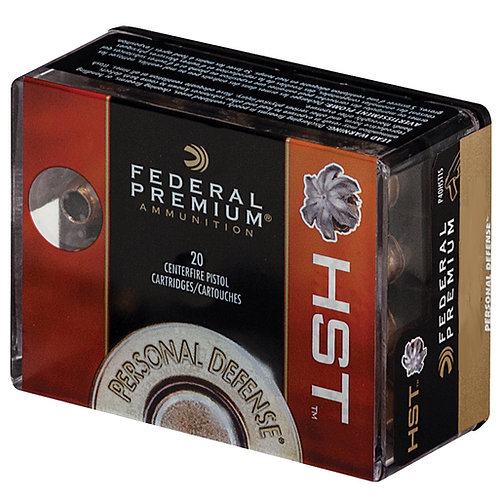 Federal Personal Defense HST 45 ACP 230 gr HST Jacketed Soft Point 20/Box