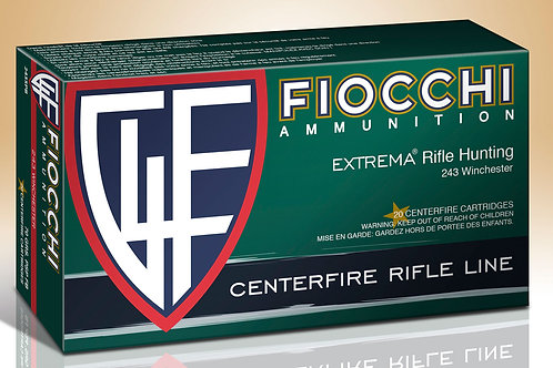 Fiocchi Shooting Dynamics 243 Win 70 gr Pointed Soft Point (PSP) 20/Box