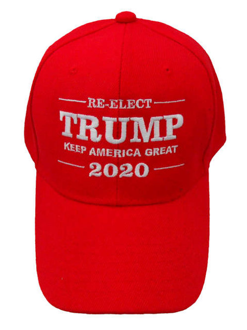 Re-Elect Trump Keep America Great 2020 Cap - Red