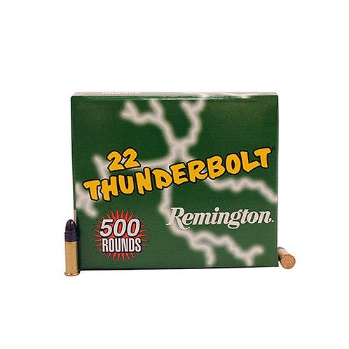 Remington Ammunition TB22B Thunderbolt 22 LR 40 gr Round Nose (RN) 500/Box