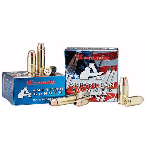 Hornady 90224 American Gunner 9mm Luger +P 124 gr XTP Hollow Point 25/Box