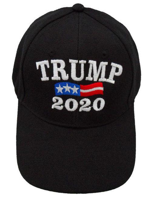 Trump 2020 w/ Flag Bill Cap