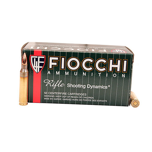Fiocchi 223C Shooting Dynamics 223 Rem 62 gr Full Metal Jacket Boat Tail 50/Box