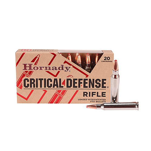 Hornady 80270 Critical Defense 223 Rem 55 gr Flex Tip eXpanding 20/Box