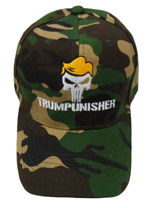Trumpunisher Cap - Green Camo