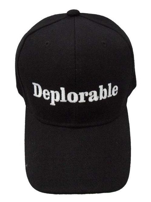 Deplorable Mesh Cap - Black