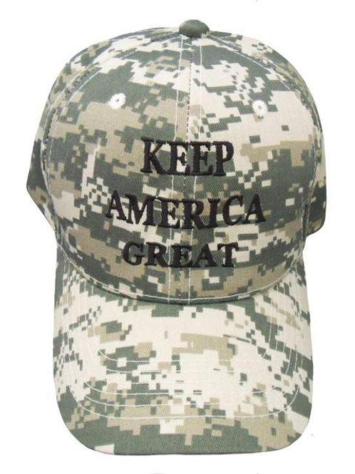 Keep America Great Cap - Digital Camo