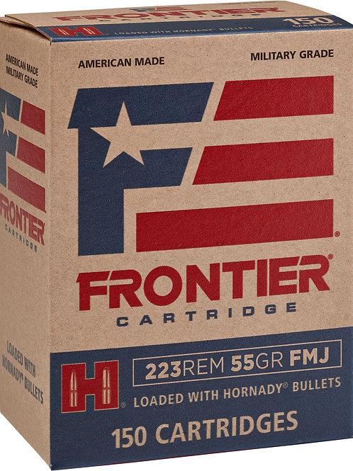 Frontier Cartridge FR1015 Rifle 223 Rem 55 gr Full Metal Jacket (FMJ) 150/Box
