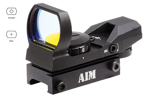 Aim Sports RT401 Reflex Classic Edition 1x 34mm 1 MOA Illuminated 4 Pattern Red