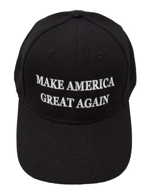 Make America Great Again Mesh Cap - Black