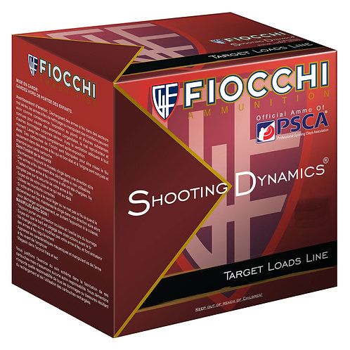 "Fiocchi 12SD1L9 Shooting Dynamics Target 12 Gauge 2.75"" 1 oz 9 Shot 25/Box"