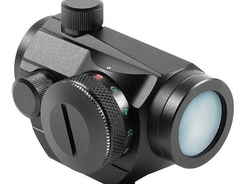 Aim Sports Micro Dot 1x 20mm 4 MOA Dual Illuminated Red/Green Dot Lithium Black