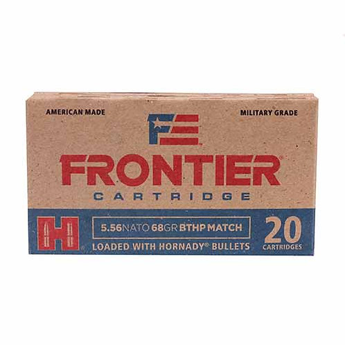 Frontier Cartridge FR310 Rifle 5.56 NATO 68 gr Boat Tail Hollow Point Match 20/B