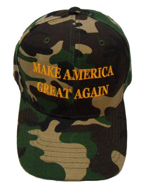 Make America Great Again Cap - Green Camo