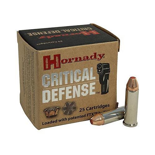 Hornady 91340 Critical Defense 40 S&W 165 gr Flex Tip eXpanding 20/Box