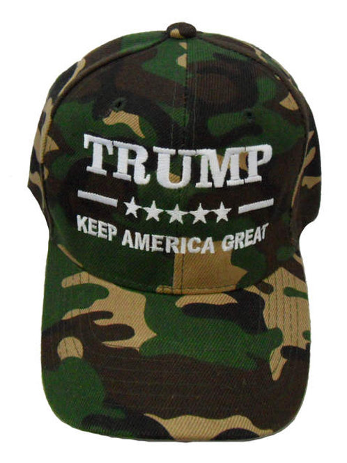 Trump Keep America Great Cap - Green Camo
