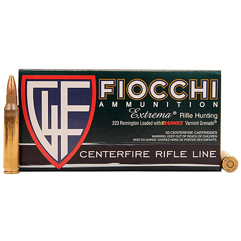 Fiocchi 223A Shooting Dynamics 223 Rem 55 gr Full Metal Jacket Boat Tail 50/Box