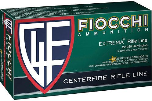 Fiocchi 22250HVD Extrema 22-250 Rem 55 gr V-Max 20/Box