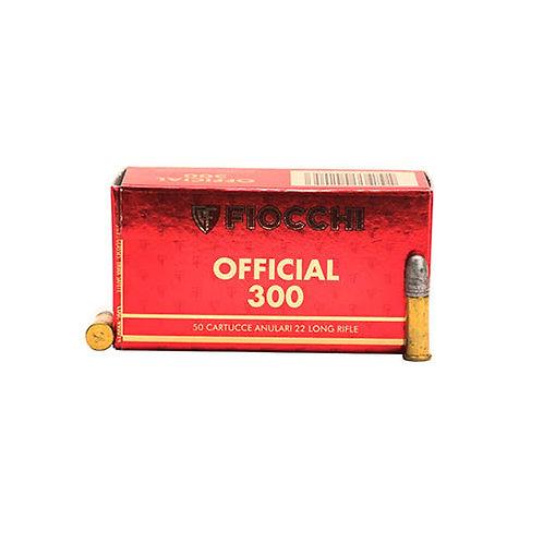 Fiocchi 22SM340 Exacta Super Match 22 LR 40 gr Round Nose (RN) 50/Box