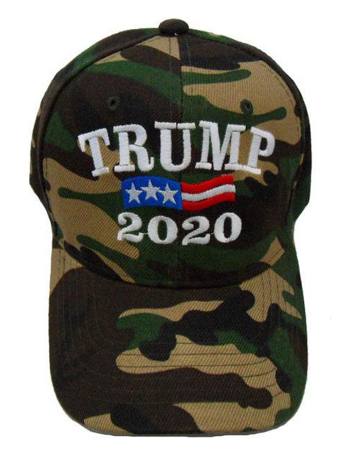 Trump 2020 Cap - Green Camo