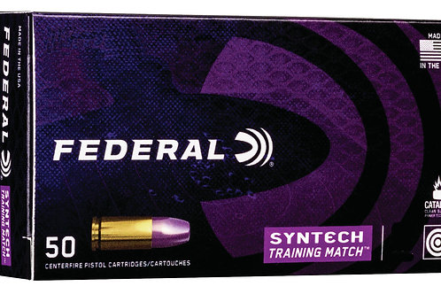 Federal Training Match 45 ACP 230 gr Total Syntech Jacket Flat Nose 50/Box