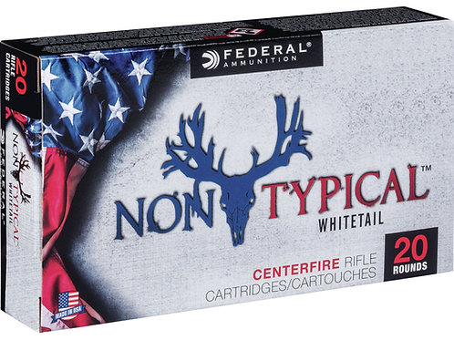 Federal 243DT100 Non-Typical 243 Win 100 gr Non-Typical Soft Point (SP) 20/Box