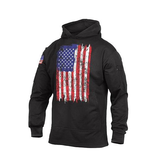 U.S. Flag Concealed Carry Hoodie