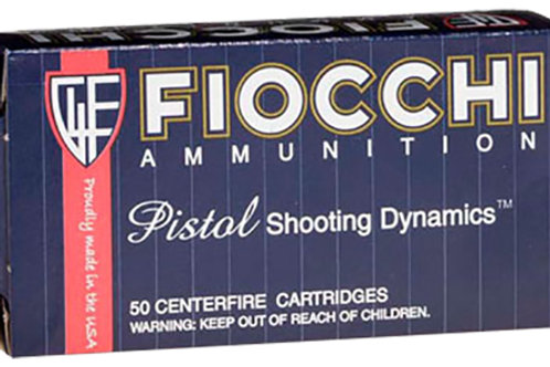 Fiocchi Shooting Dynamics 9mm Luger Subsonic 158 gr Full Metal Jacket 50/Box