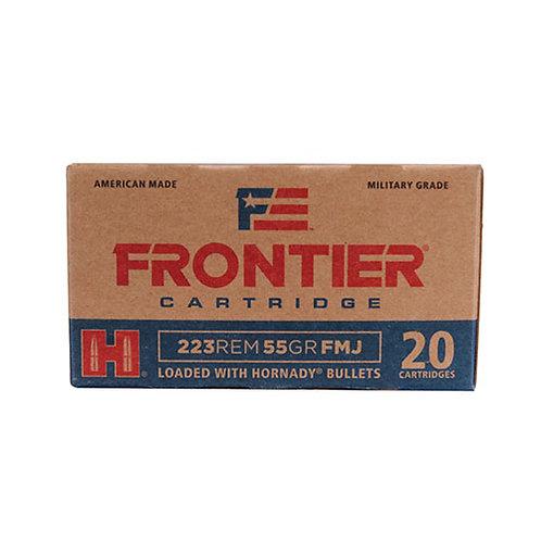 Frontier Cartridge FR100 Rifle 223 Rem 55 gr Full Metal Jacket (FMJ) 20/Box