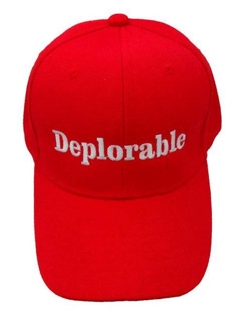 Deplorable Cap - Red