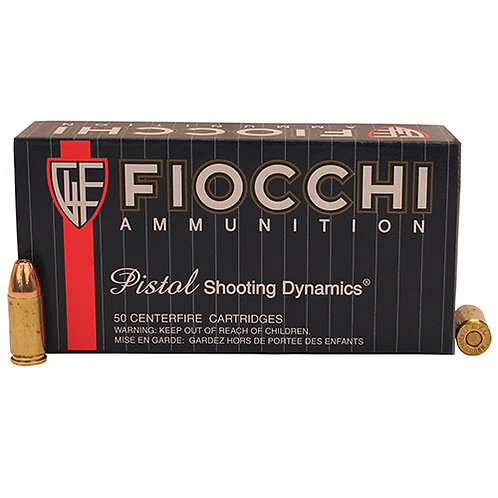 Fiocchi 9APHP Shooting Dynamics 9mm Luger 115 gr Jacketed Hollow Point 50/Box