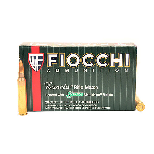 Fiocchi 223MKC Exacta Match 223 Rem 69 gr Boat Tail Hollow Point (BTHP) 20/Box