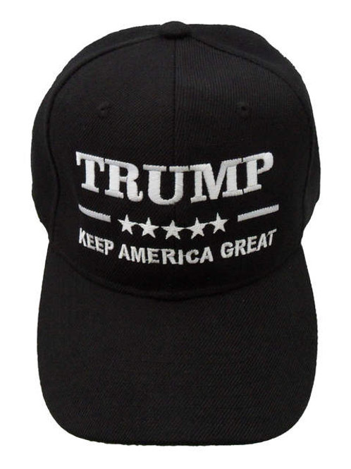 Trump Keep America Great Cap - Black