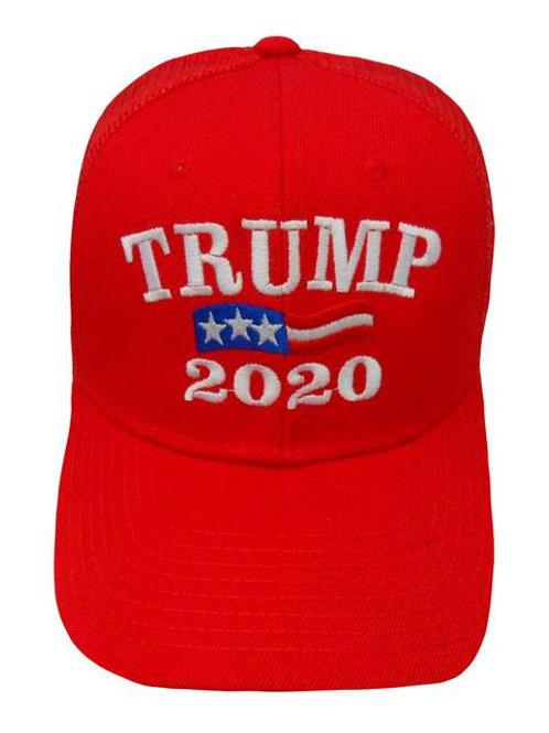 Trump 2020 Mesh Cap - Red