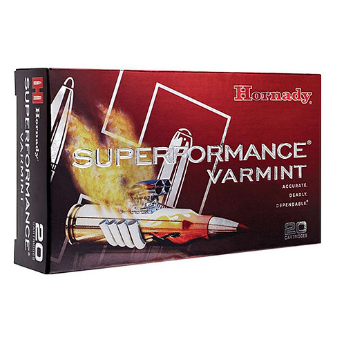 Hornady 83209 Superformance Varmint 204 Ruger 24 gr NTX 20 Bx/ 10 Cs