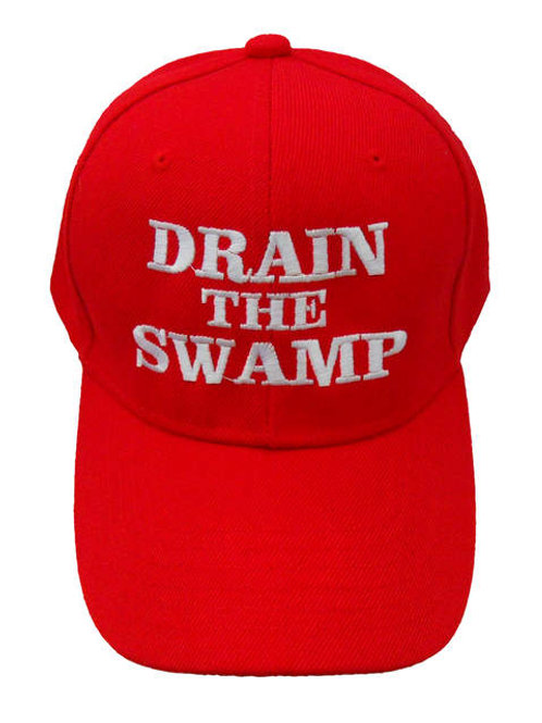 Drain the Swamp Cap - Red