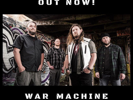 WAR MACHINE is out now!
