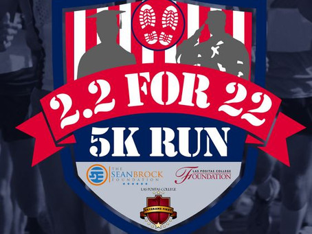 2.2 For 22 and Veteran's Day 5K - 11/9/19