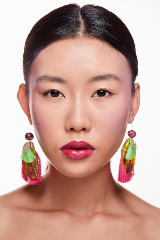 Colour Story - Flushed Pink Makeup and Hairstyling by Melinda Wenig