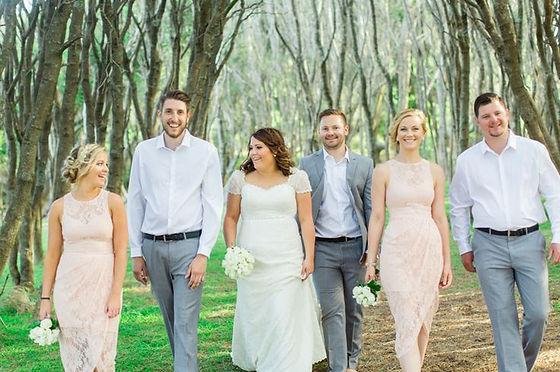 Wedding Day Bridal Party