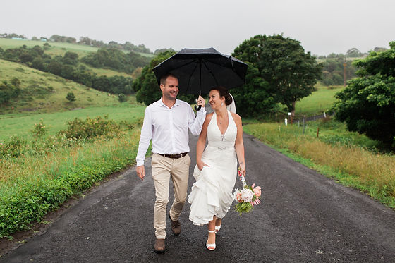 Bride and Groom 'Just Married' image