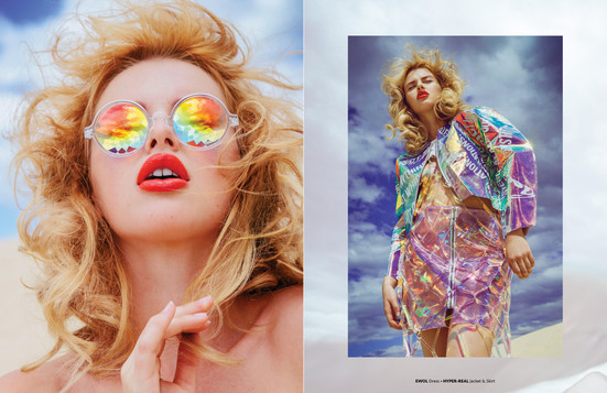 Editorial for Fen Hong Se Mag
